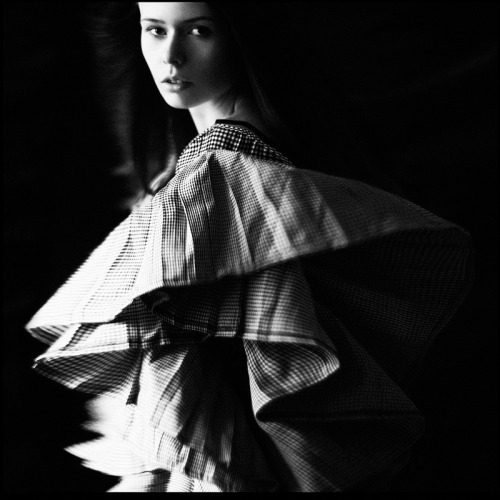 Black and white fashion photography by Aleksandra88
