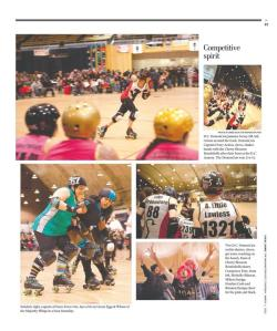 Roller derby!! Shot for The Washignton Post's Local Living section, March 1 2012. Page here.