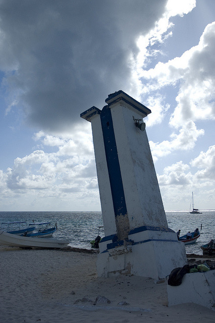 Light tower in Puerto Morelos on Flickr.Beach life in Yucatan, Mexico Cosy village of Puerto Morelos.  Perfect hide away for Cancun and Playa del Carmen.