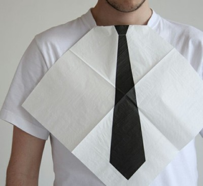 Getting men in Denver to wear a tie is like pulling teeth… this is the closest the majority of them will get.  I will continue to fight my one my crusade…