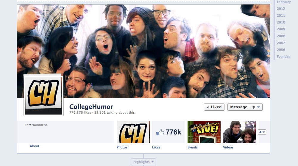 jesseeisemann:  blogwell:  miketrapp:  collegehumor:  MANDATORY FACEBOOK TIMELINE is HERE! Click to check our beautiful, beautiful cover photo.  Here's me smushed against glass with my co-workers.  mmmhmmmmmm  CONTEST! First fan to spot Caldwell's butt gets to write and direct 3 fan fiction Hardly Workings  awesome cover photo!