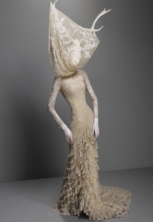 omgthatdress:  The Widows of Culloden Alexander McQueen, 2008 The Metropolitan Museum of Art