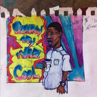 "My new tape cover ""Waz Cool"" by RaShawn  (Taken with instagram)"
