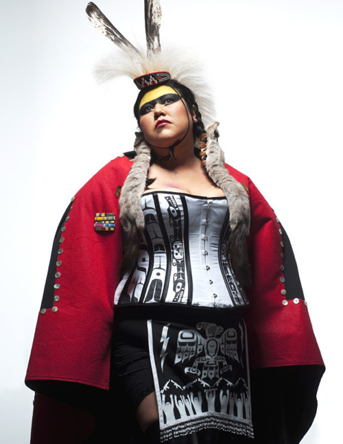 adailyriot:   ~ Skeena Reece Raven: On the Colonial Fleet (2010)  salish swag
