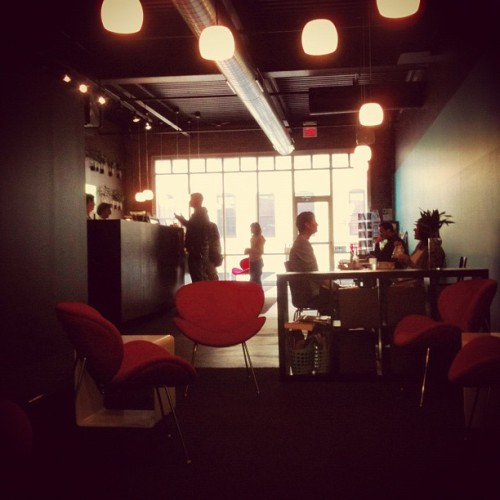 Boppin @SIPcoffeebar. (Taken with instagram)