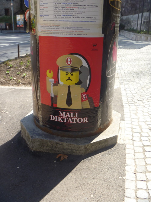 IDK what this is about, but it's a Lego Hitler.