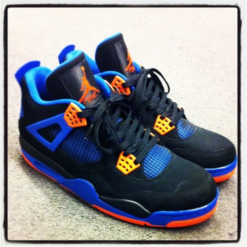 Who needs the Cement 4s when you have these?! Jordan Knicks 4s (Taken with instagram)