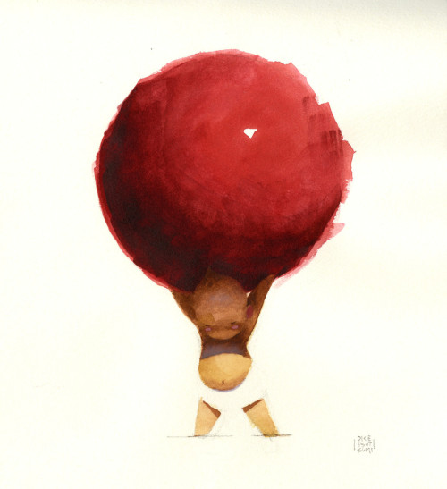 For your consideration… Pixar artists have donated a new round of artwork for the Artists Help Japan Earthquake & Tsunami Fund.  They are currently up for bid on ebay including the above image by Dice Tsutsumi.