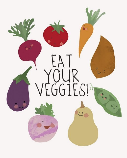 littlewaternymph:  I love my veggies!