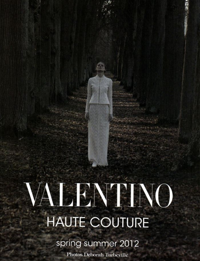 Vogue Italia, March 2012Valentino Haute Couture by Deborah Turbeville