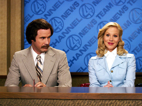 "Confirmed: Anchorman 2!!! ""You pooped in the refrigerator? And you ate a whole wheel of cheese? How'd you do that? I'm not even mad. That's amazing."" - Will Ferrell as Ron Burgundy, to his multi-talented doggie pal Baxter See More of the Comedian's Most Memorable Movie Quotes >"