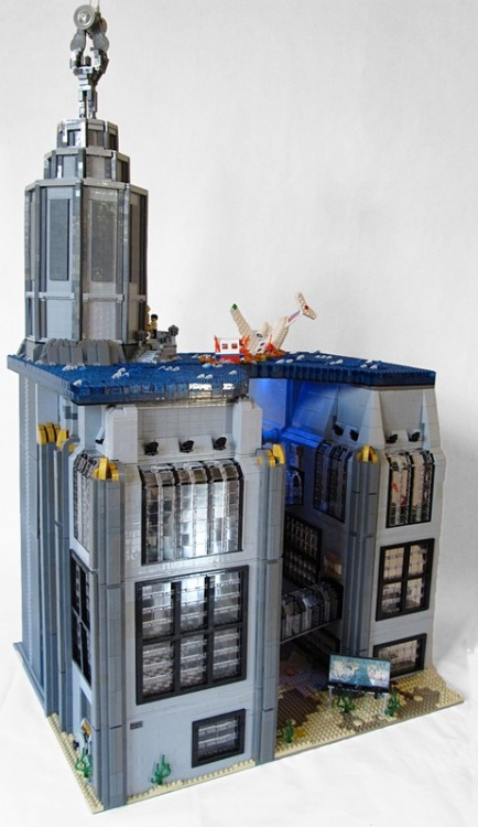 Underwater Rapture from Bioshock built for Brickworld 2011