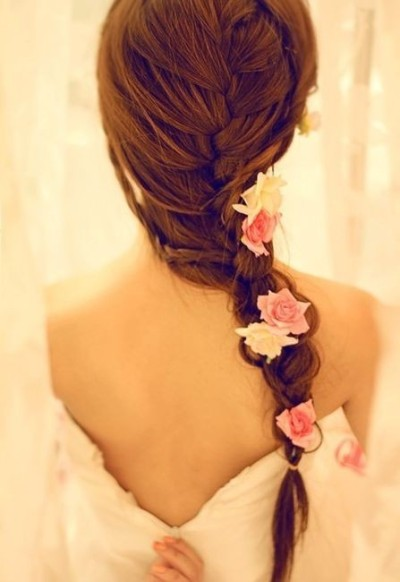 She came walking toward me, flowers in her hair…