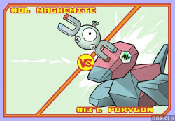 Megnemite vs. Porygon