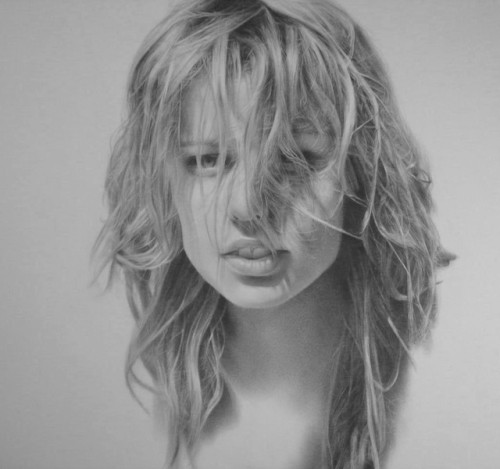 looks like a photo? it's a pencil drawing. by exISTenz