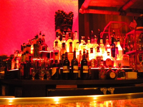 The bar at the Tonga room.