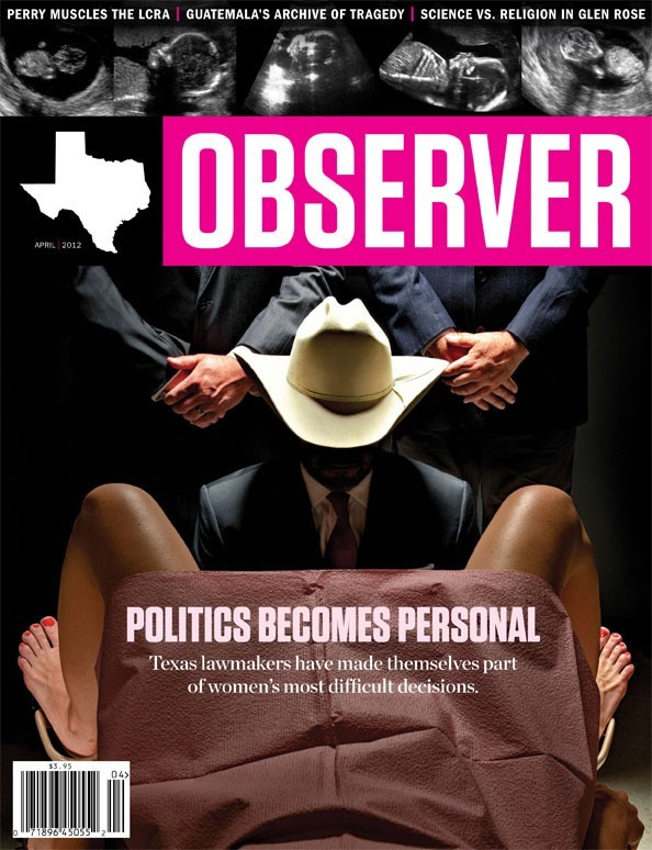 aesalazar:  The latest Texas Observer cover. I think I get their point.