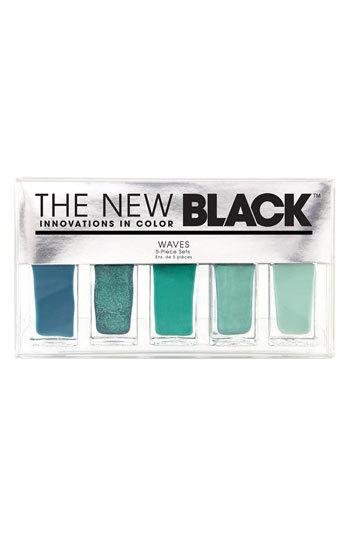 The NEW BLACK 'Wave- Ombre Nail Shades' 5 Piece Nail Set  yes, please.