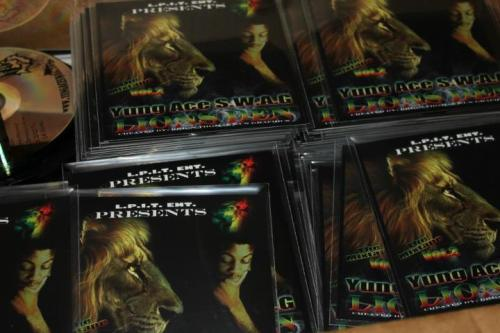 My new mixtape LIONS DEN VOL. 2 are pressed and ready to go. Tweet me @YUNGACESWAG if you want one or download it on my website www.YUNGACESWAG.com. A few songs that didn't make the mixtape are on my website too.