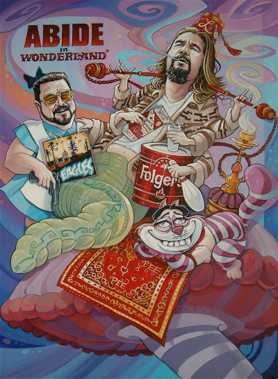 barefootmarley:  abide in wonderland david macdowell  daily dude
