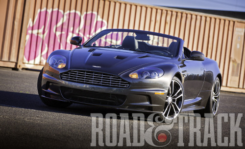 2012 Aston Martin DBS Volante Carbon Edition - A GT with an extra dollop of carbon and character. (Source: Road & Track)