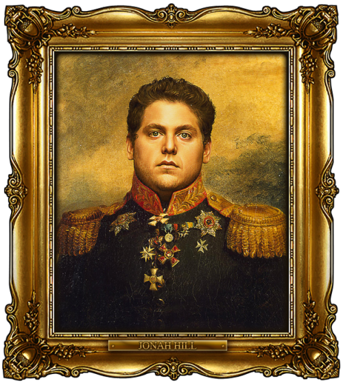 imwithkanye:  Celebrities as Russian Generals. Created by Steve Payne. (This site is brilliant.)