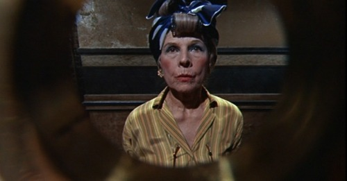 maudelynn:  Ruth Gordon as Minnie Castevet She is perfect, and creepy as hell, in this role. via http://www.horrorphile.net