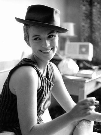 Jean Seberg, the only woman I'll ever love. Rest in peace. peepharr
