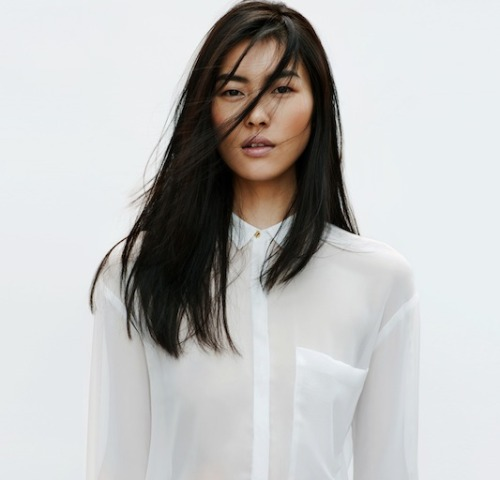 Liu Wen looking amazing as usual for Zara's April Lookbook (Via Because I'm Addicted)