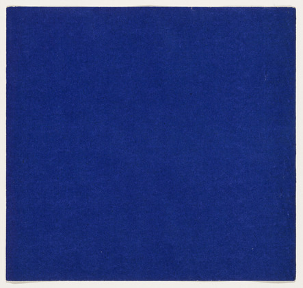 Ellsworth Kelly: Blue, from the series Line Form Color 1951