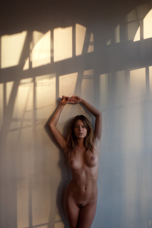 terrysdiary:  Camille Rowe at my studio #4