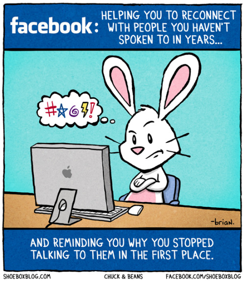 laughingsquid:  Reconnecting With Facebook