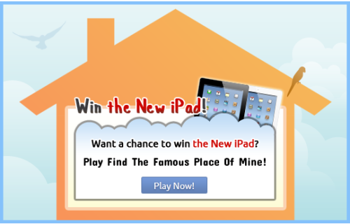 Don't forget to enter the contest for a chance to win the new iPad or a $50 Amazon.com Gift Card!  New clues everyday and you can enter everyday!
