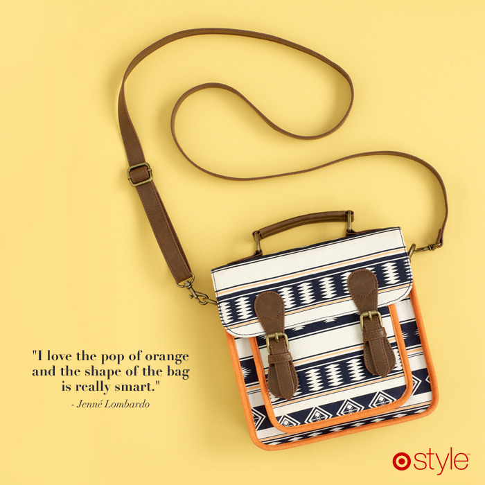 Jenné's Must Haves own it: tribal bag.