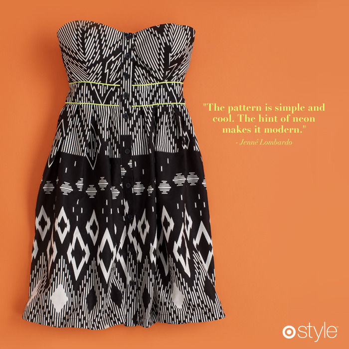 Jenné's Must Haves own it: sweetheart tube dress.