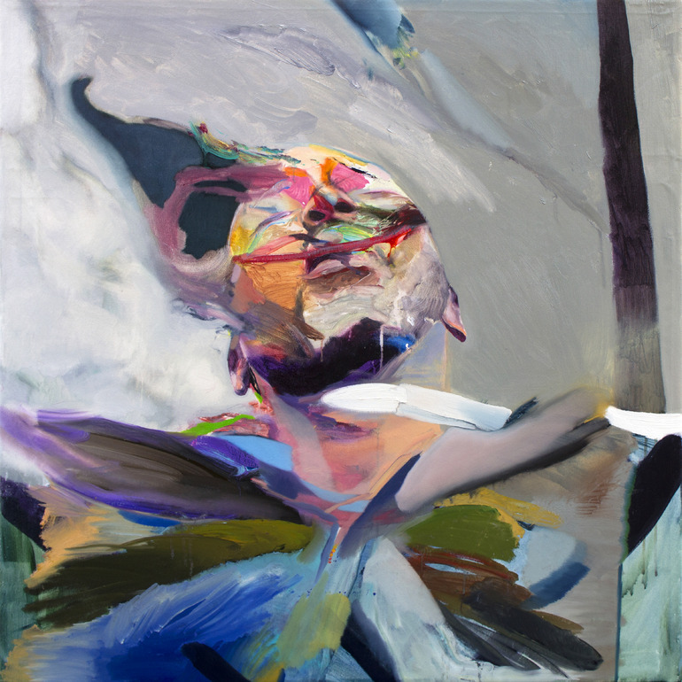 Winston Chmielinski. Exhale, 2012. Oil on canvas.