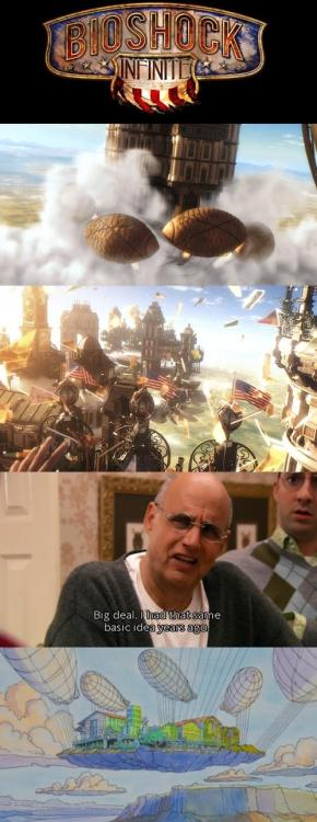 Classic: George Bluth on Bioshock Infinite