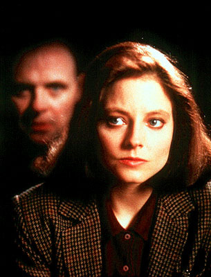 "Female Paranoia in Silence of the Lambs Source: American Cinema: 1960-Present #screenwriting #film #writing ""Personal paranoia plays a large role throughout the entirety of Jonathan Demme's The Silence of the Lambs, especially as it relates to gender. There is often music when Clarice and Hannibal speak, however each of them seems to have a different instrument assigned as their own. Often times, when Clarice speaks, we hear strings, yet when Hannibal speaks, we hear much lower tones of brass instruments. Often times, as tension builds, we are led into the scene by minor, dissonant music, which inevitably cuts to silence at some point. Furthermore, whenever Clarice travels to a more ""small town"" landscape, a different type of music, perhaps more subdued and melancholy, is introduced. When Hannibal and Clarice speak about Clarice's past in the prison, the conversation begins with, I think, timpani whenever Clarice speaks, and brass whenever Hannibal does. However as the exchange and editing get more and more rapid, the instruments blend into one instrumental piece. The low tones for Hannibal whenever he is onscreen keep us constantly on edge…."""