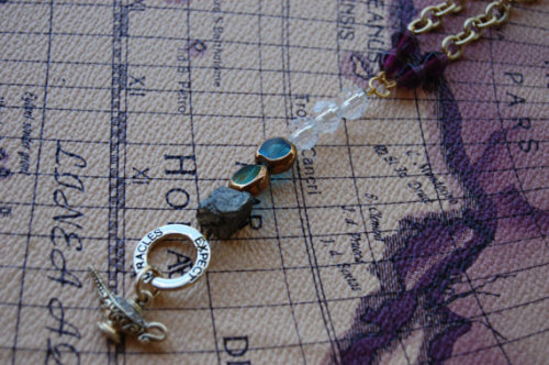 Once Upon a Charm, Aladdin inspired necklace.