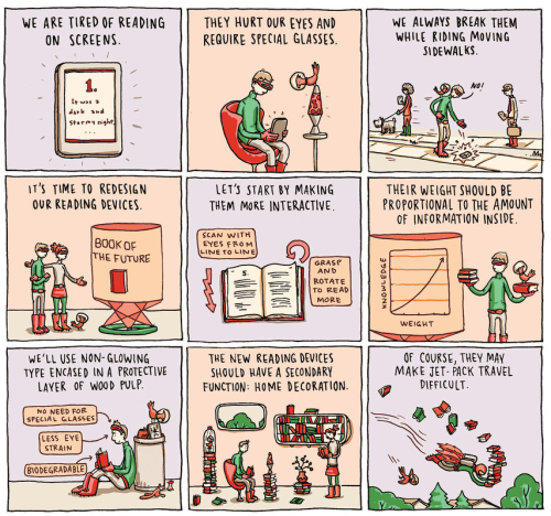 Grant Snider (author of the weekly cartoon at Incidental Comics) via @NYTimes