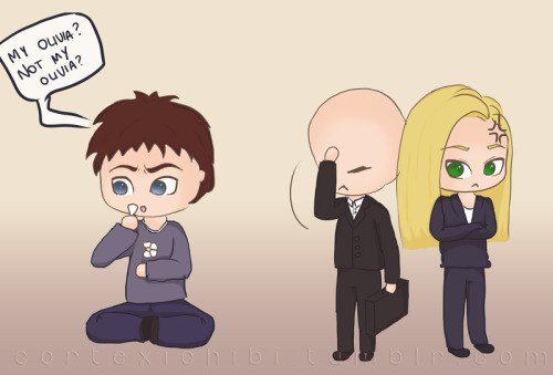 chibis for your Fringe Friday