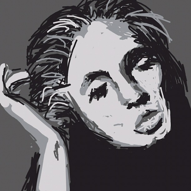 Adele (Need to gauge my allotted 10 minutes better. Ran out of time on this one too). #drawsomethingdesigns  #iphoneonly #drawsomething #Adele (Taken with instagram)