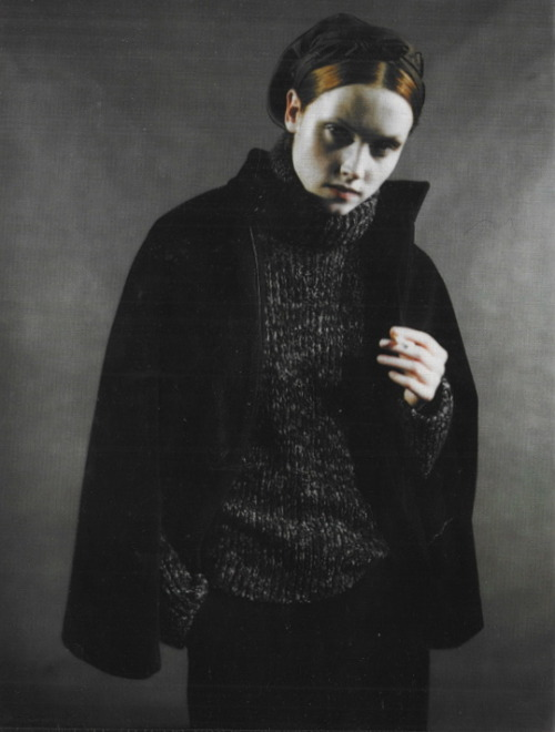 Portraits from Moscow by Paolo Roversi, Vogue Italia August 1998