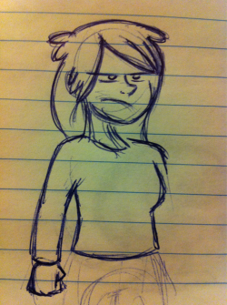 Jane is another character from the same comic. I'm still not completely satisfied with her hair, for some reason I really preoccupy myself with hair design probably too much. Oh well, she can always get it cut…