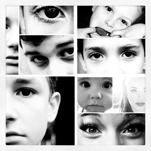 Eyes. I love eyes. I love them because everyone's eyes are different. When you look into someone's eyes you can see that they have a story, you're not sure what that story is but you know it's there. Eyes are the passage way to the heart.