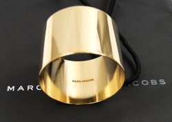 Marc Jacobs new gold cuff  http://aleygreenblo.tumblr.com/