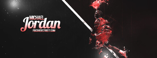 Michael Jordan Dunk Facebook Cover