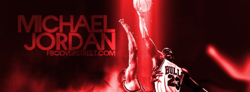 Michael Jordan Taking Flight Facebook Cover