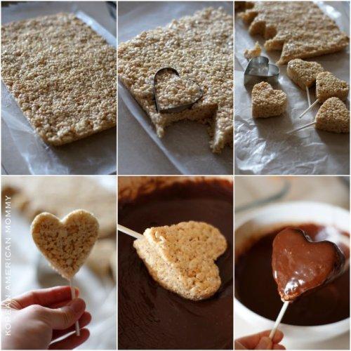 thecakebar:  rice krispies heart pops! (tutorial/recipe)