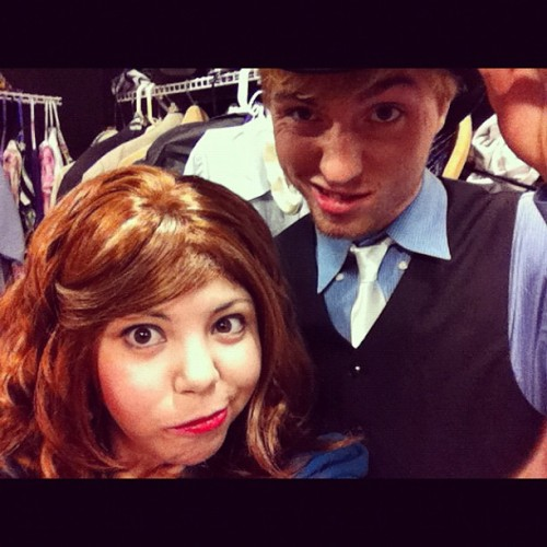Howdy from backstage at 9 to 5 (Taken with Instagram at Pointe Performing Arts Center)